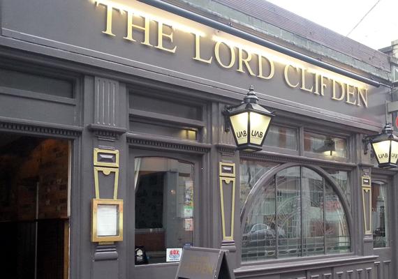 Lord Clifden Pub Birmingham