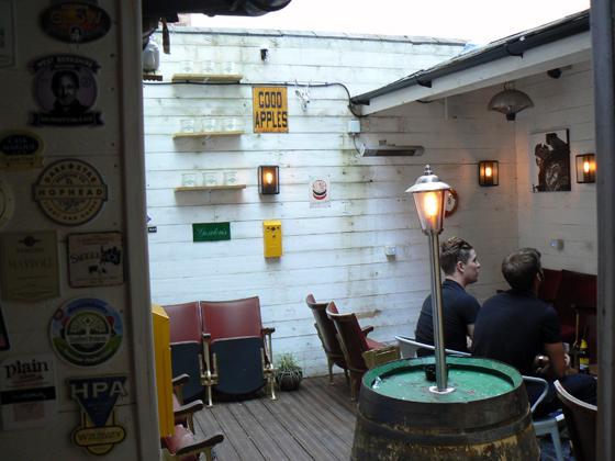 The Queens Arms Beer Garden