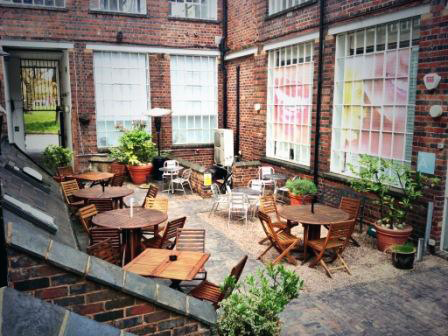 Rectory Bar Courtyard