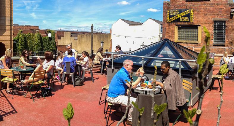 The Church Inn Rooftop Garden