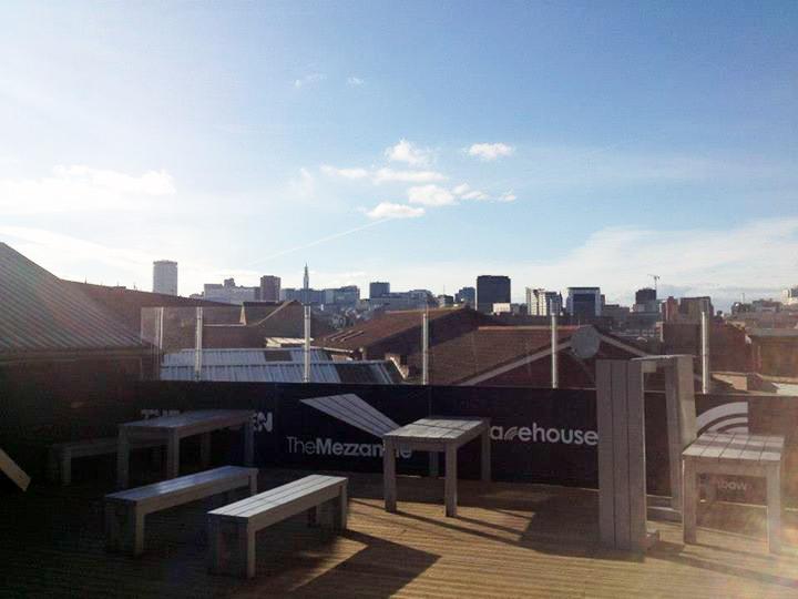Rainbow Warehouse Rooftop