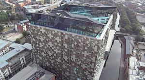 Aerial-Video-Birmingham-The-Cube-Mailbox