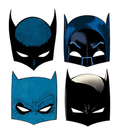 Bat Masks from DC Comics