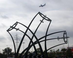 Sentinel sculpture