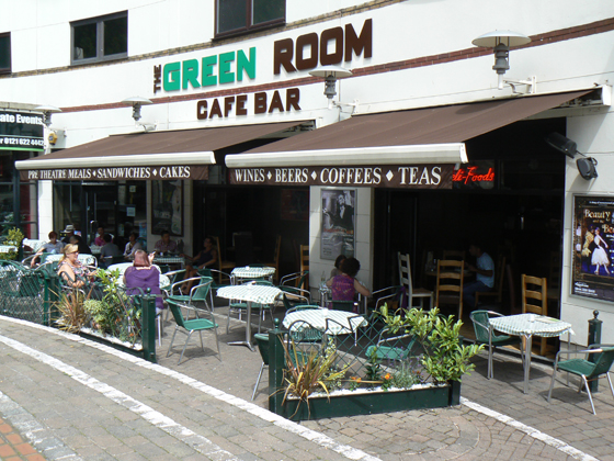 The Green Room Cafe Bar