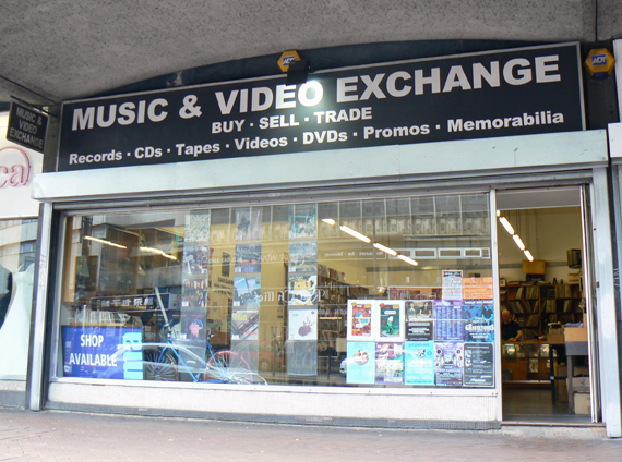 The Music and Video Exchange