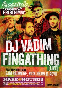 DJ Vadim Birmingham