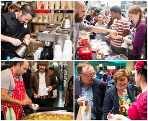 Birmingham Independent Food Fair collage