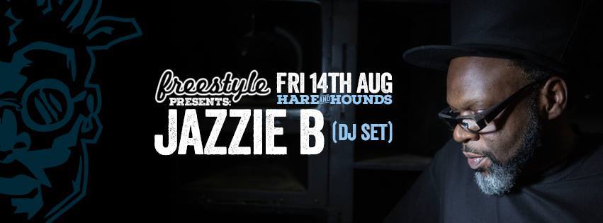 Jazzie B Birmingham