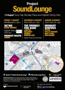 Project SoundLounge Flyer