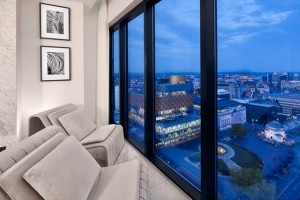 Hyatt Birmingham Room Skyline