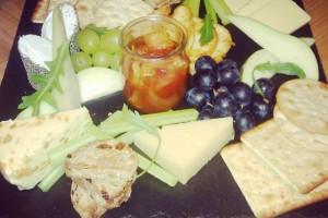Hyatt Hotel Cheese Board