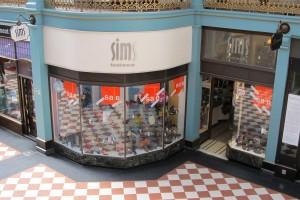 Sims Footwear Birmingham Store