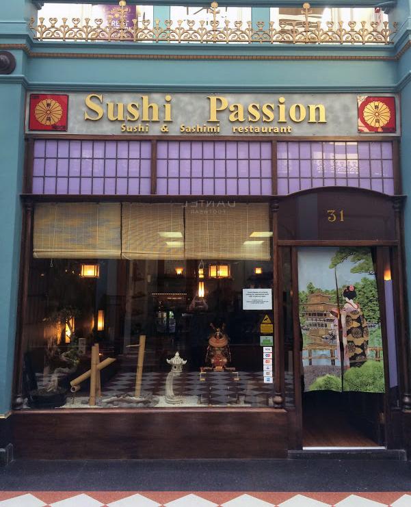 Sushi Passion Restaurant Birmingham
