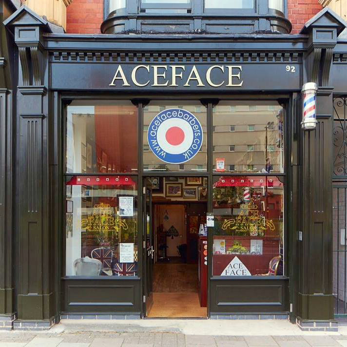 Barber Shop Grapevine : http://www.acefacebarbers.co.uk/