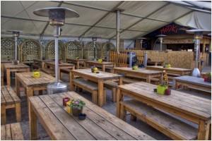 Prince of Wales Moseley beer garden 2