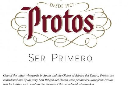 Exclusive Wine tasting and Tapas Event with Protos at El Borracho