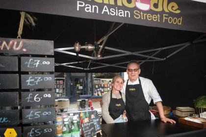 Chris Wiggin 'Canoodle' Street Food Interview