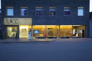 Bloc Hotel at night