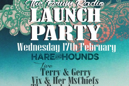 Brum Radio Launch Party Wed 17th