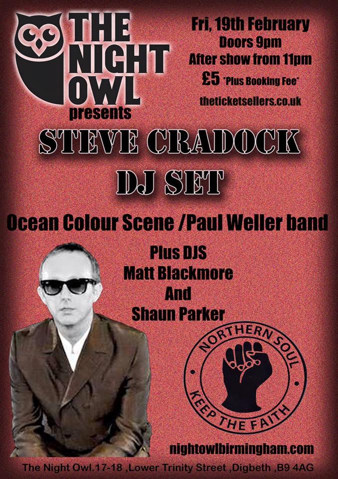 Steve Cradock Birmingham