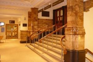 Birmingham Town Hall Entrance