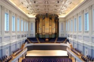 Birmingham Town Hall Interior