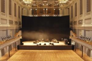 Birmingham Town Hall Stage