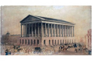 Birmingham Town Hall artists impression