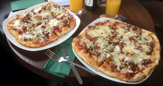 Eaglle and Ball Pizza Birmingham