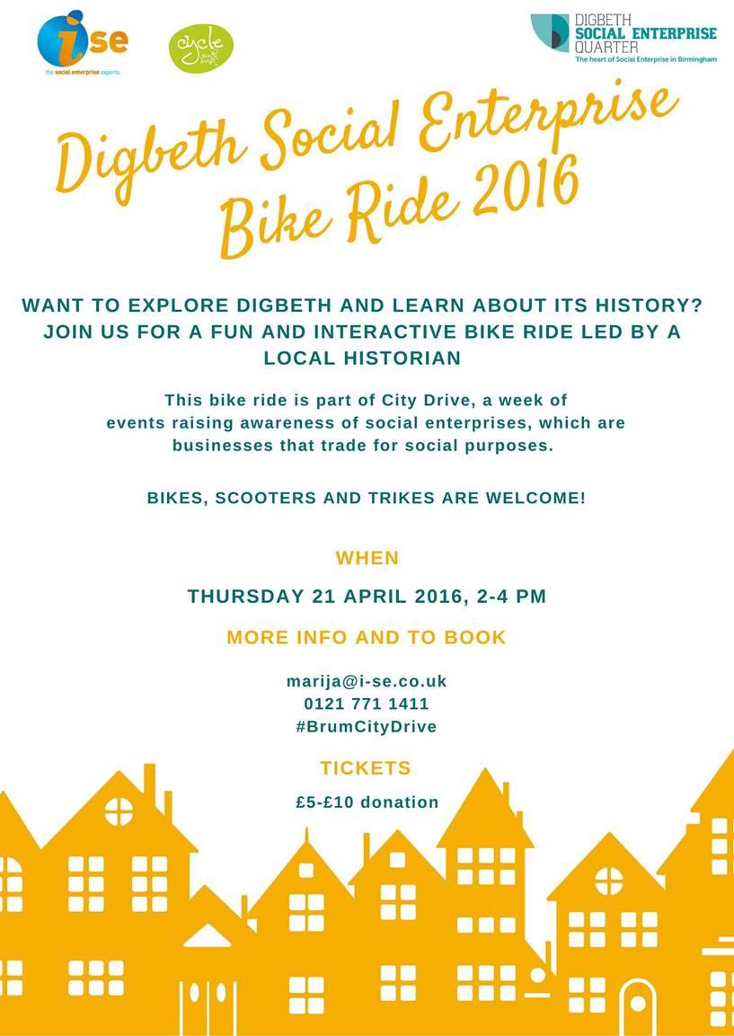 Digbeth Social Bike Ride