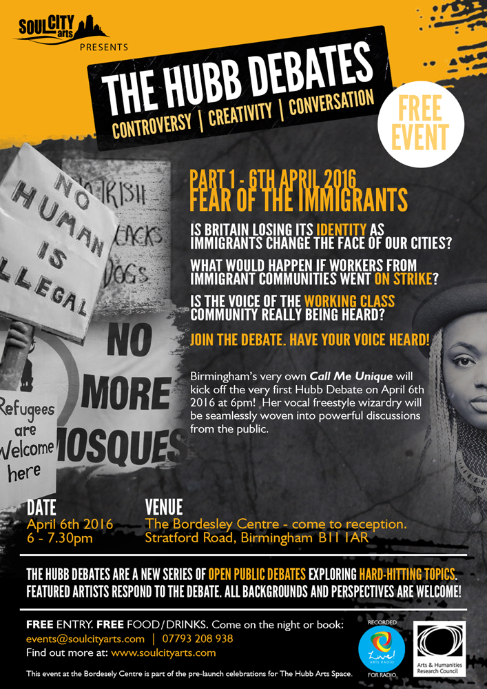 Immigration Debate Birmingham 2016