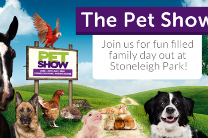 New Sponsorships for Pet Show