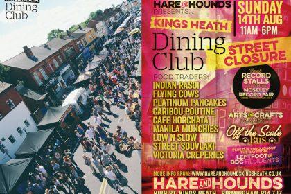 Kings Heath Dining Club York Street Road Closure