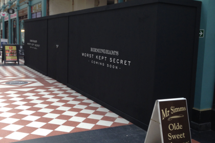 A New Bar for the Great Western Arcade