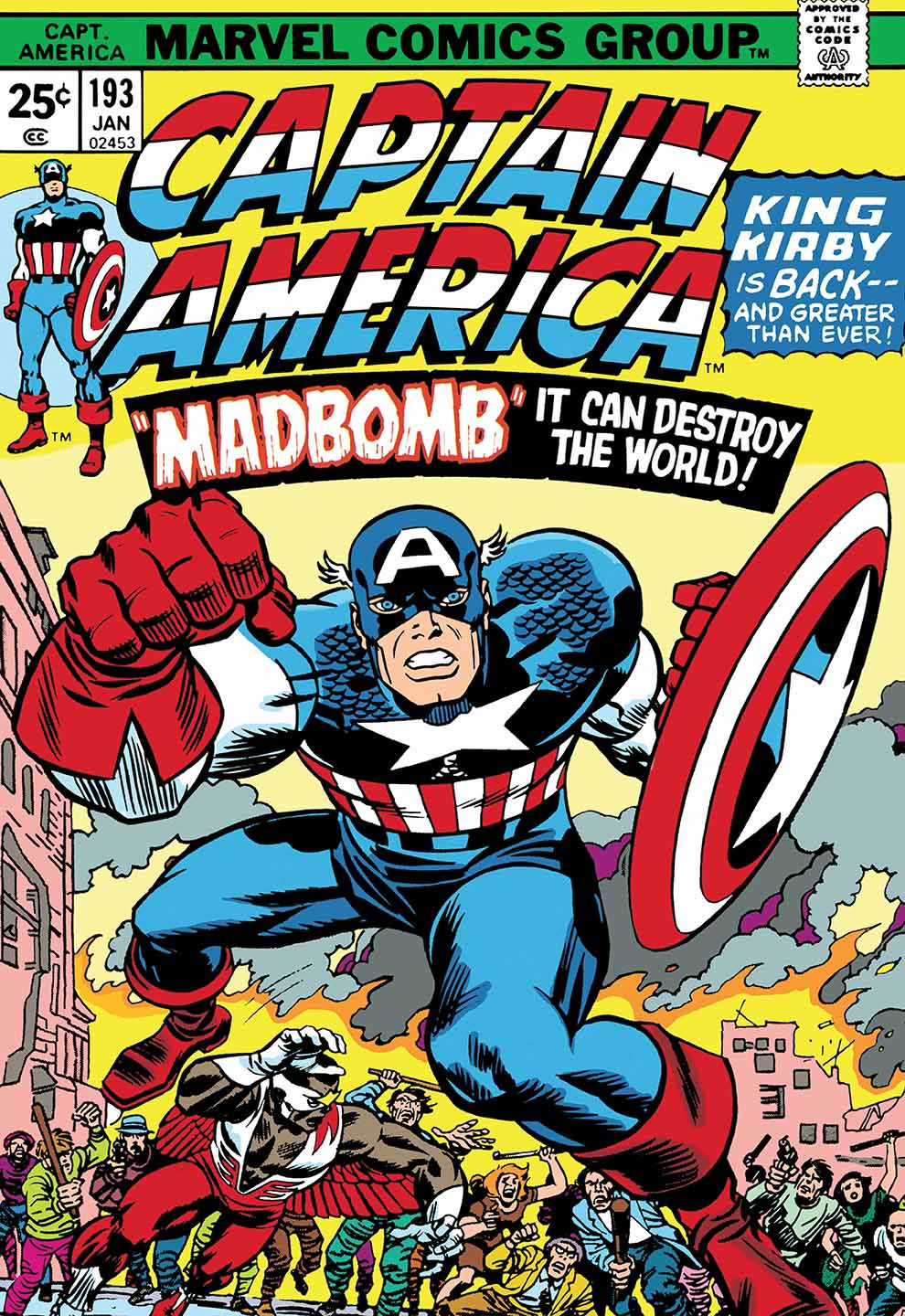 Captain America Number 193 - 'Madbomb'