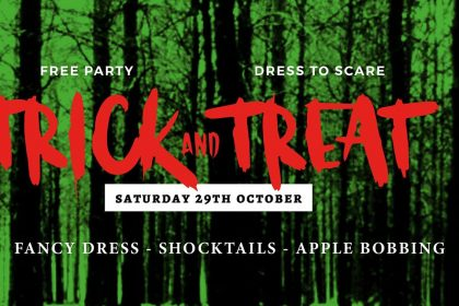 The Old Crown Presents Trick and Treat!