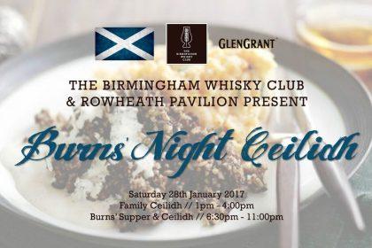 Birmingham Whisky Club Goes Big On Burns' This January