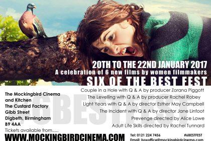 Oscar Winning Producer Praises New Birmingham Women's Film Festival