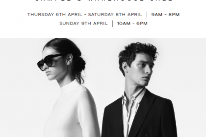 Reiss Sample Sale – April 6th-9th