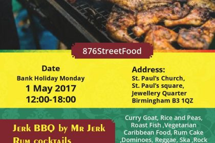 Reggae Caribbean Cookout returns to Jewellery Quarter May Bank Holiday