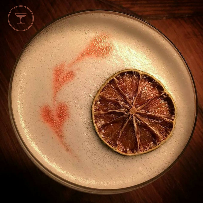 Pisco sour marked