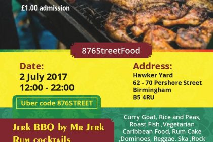 Hawker Yard takeover by Reggae Caribbean Cookout