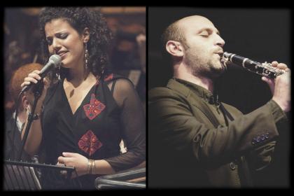 Palestine Jazz UK Tour Nai Barghouti and Mohamed Najem