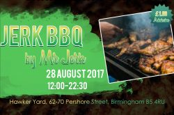 Help Mr Jerk's Reggae and Jamaican Cookout celebrate first birthday