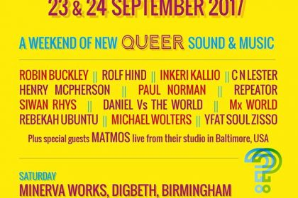 FLUID Festival, weekend of new Queer sound and music!