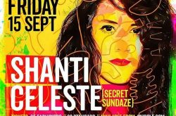Colore Presents Shanti Celeste this Friday!