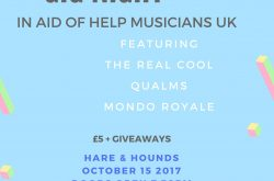 Charity Gig Night in aid of Help Musicians UK