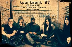 Apartment 27 bringing the horror genre to life on stage
