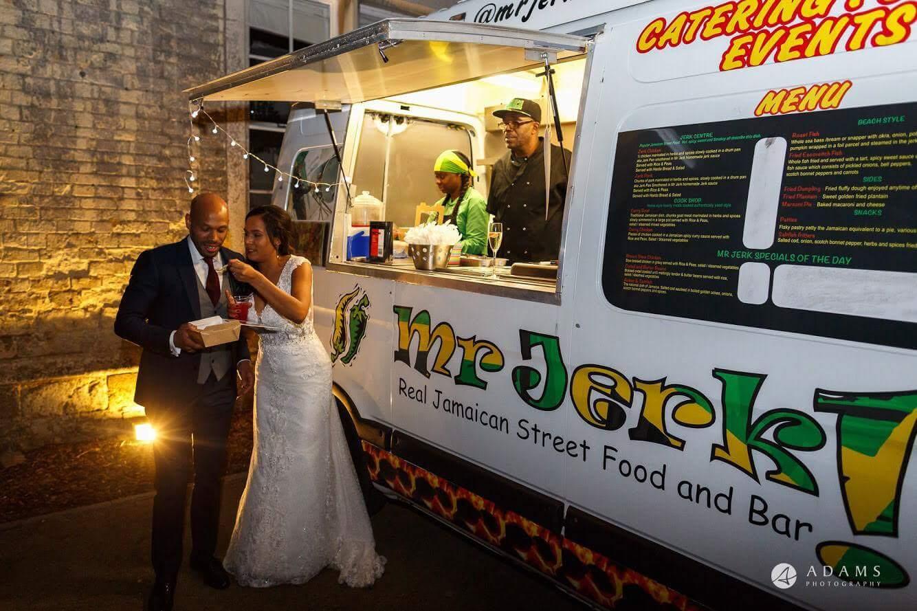 A Previous Mr Jerk Wedding